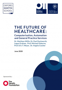 The Future of Healthcare: Computerisation, Automation, and General Practice Services